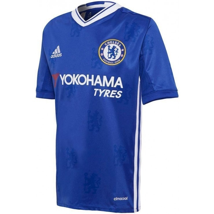 ab815e07b5 Camisa adidas Infantil Chelsea Al7124 Cfc H Jsy Y Original - R  219 ...