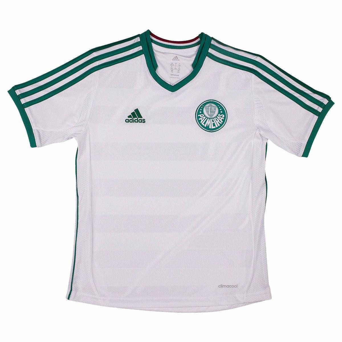 camisa adidas infantil palmeiras 2 sep original 1magnus. Carregando zoom. b9915b4be9bea