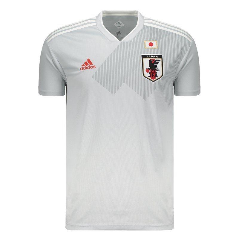 6687799d9a camisa adidas japão away 2018 branca. Carregando zoom.