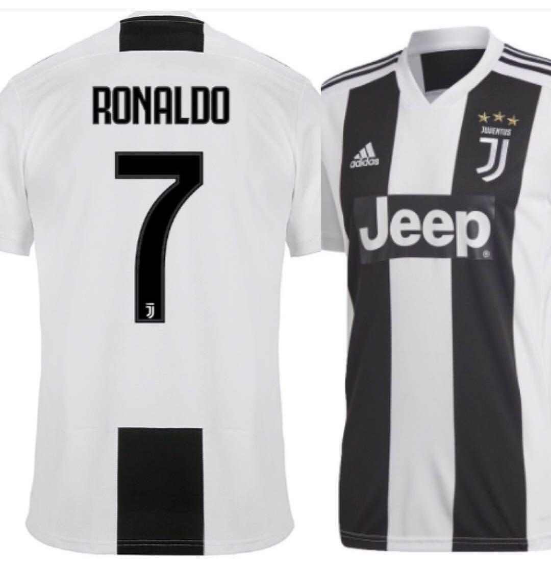 b9e70f081 Camisa adidas Juventus 2018 19 Original - Frete Grátis! - R  119