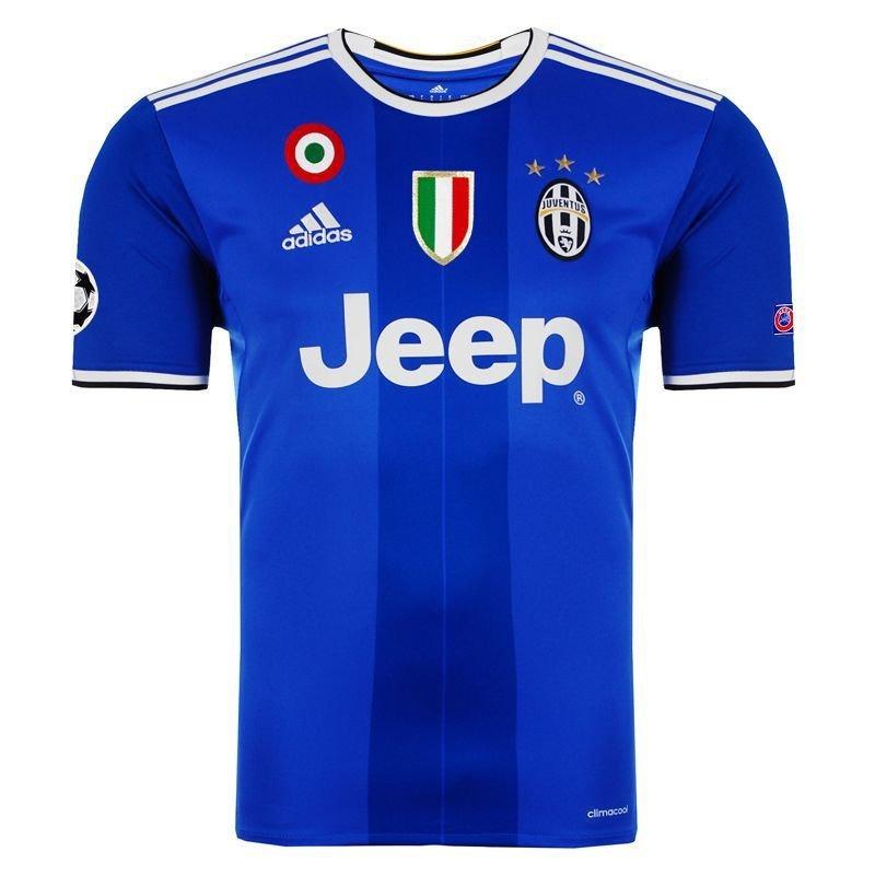 d9fd608f0 Camisa adidas Juventus Away 2017 Champions League - R  229