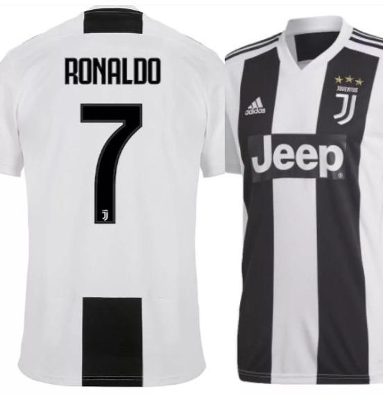 fecd66c7df Camisa adidas Juventus Cristiano Ronaldo 18/19 - R$ 128,00 em ...