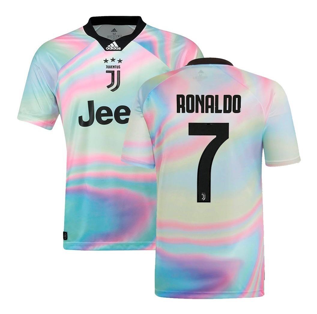 new arrival 0efd4 50072 Camisa adidas Juventus Ea Sports 2018/19 Ronaldo 7 Original