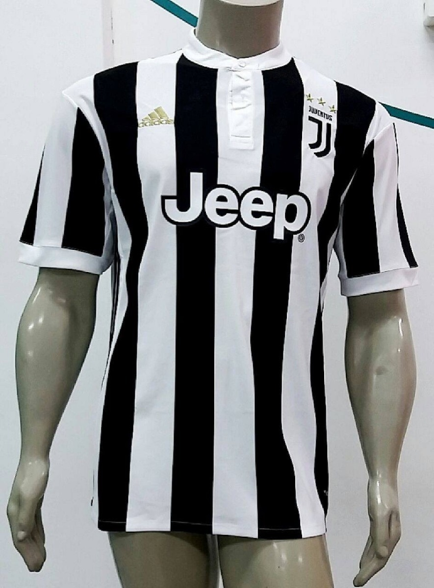 24f40b1da3 ... camisa adidas juventus home 2018 oficial - preta e branca. Carregando  zoom.