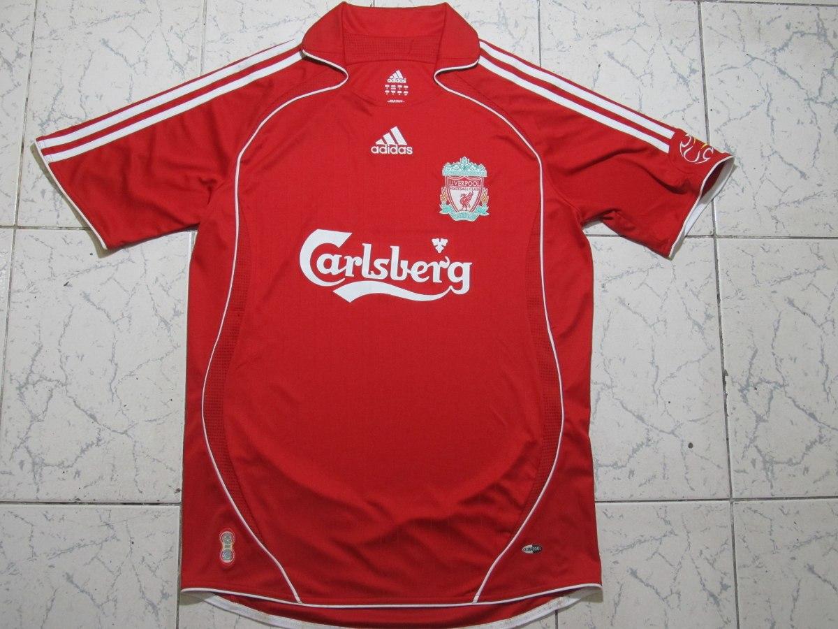 Camisa adidas Liverpool Home Vermelha 06 08 - Tam P - R  199 638f9bb4fee7e