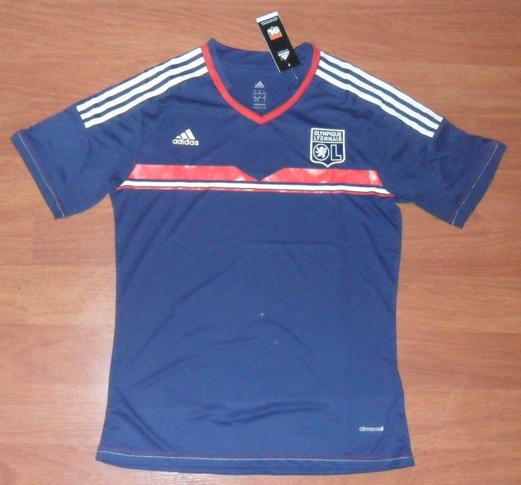 401b1e2561 camisa adidas lyon (frança) 2013 2014 3º uniforme tamanho m. Carregando zoom .