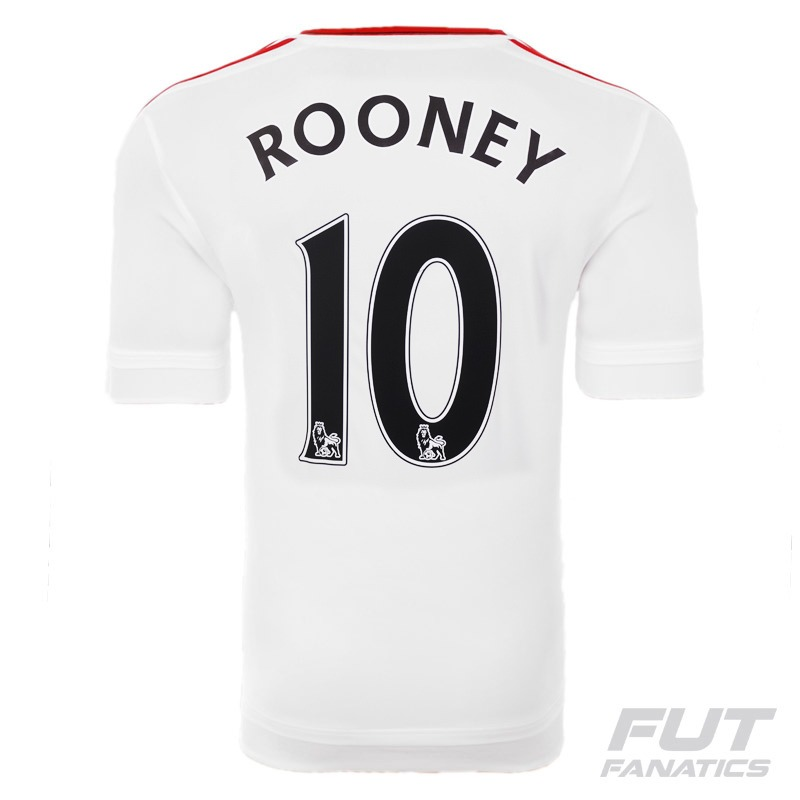 b52953374bbe7 camisa adidas manchester united away 2016 10 rooney epl. Carregando zoom.