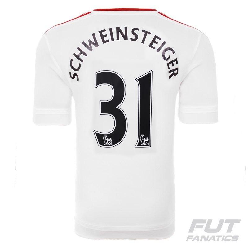 3357e2c0ef8fe camisa adidas manchester united away 2016 31 schweinsteiger. Carregando zoom .