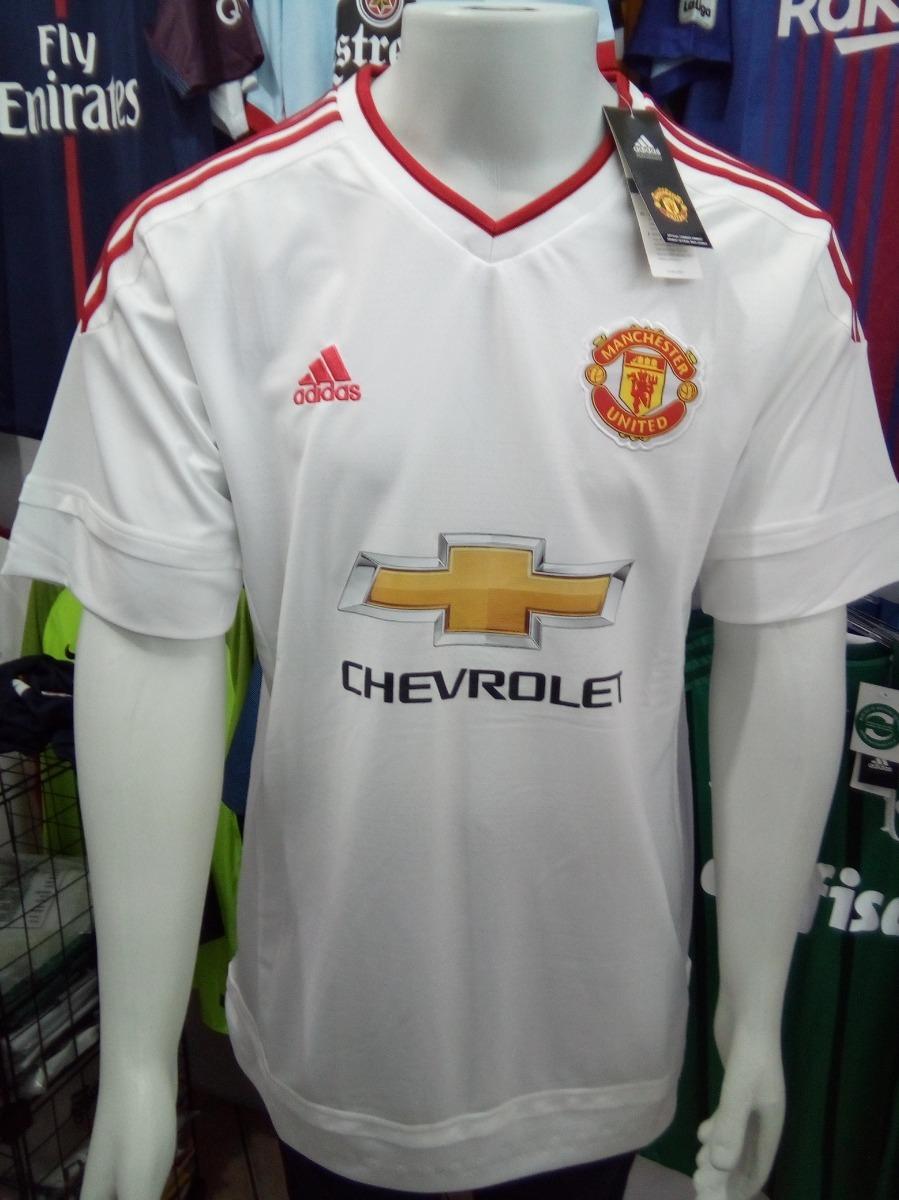720f30aa3ef37 camisa adidas manchester united away 2016 s nº torcedor. Carregando zoom.