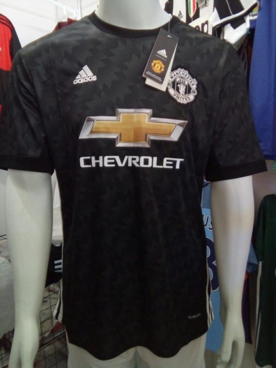 lowest price 53f7a 875b9 Camisa adidas Manchester United Away 2018 - Preta