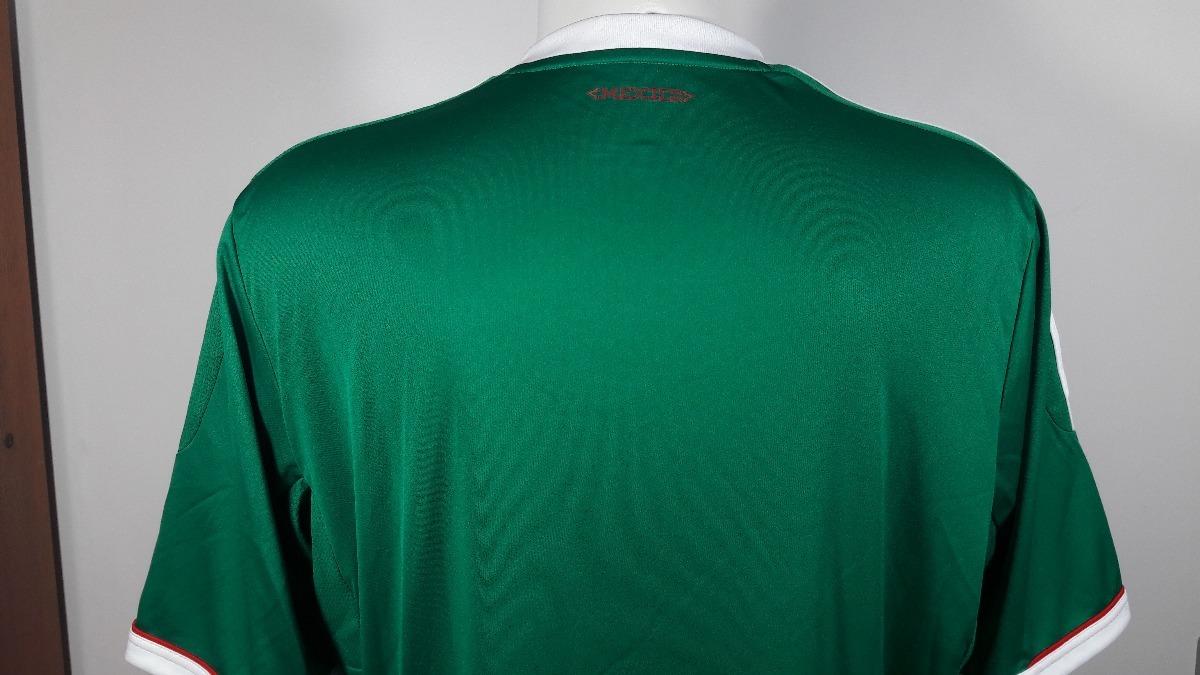 camisa adidas mexico home 2011 nova. Carregando zoom. 9931b5e494308