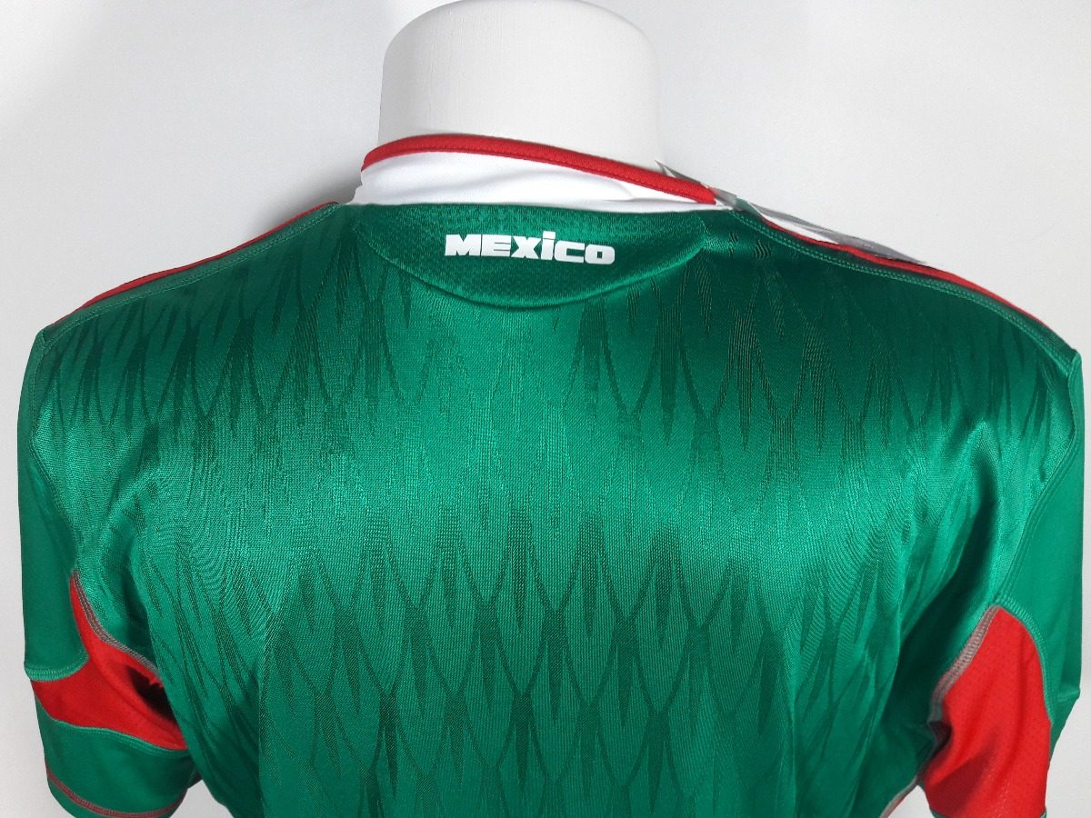 camisa adidas mexico home copa do mundo 2010 original. Carregando zoom. eda65a38e3af9