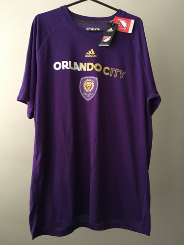 camisa adidas mls soccer orlando city climalite tamanho gg