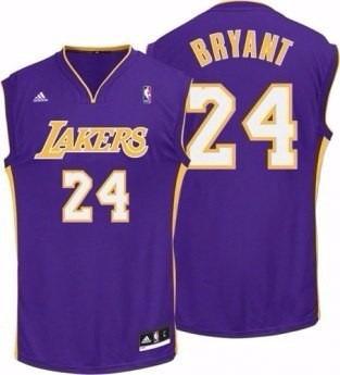Camisa adidas Nba Lakers - Kobe Bryant -24 Tamanho P Roxa - R  159 ... da410c93b768e