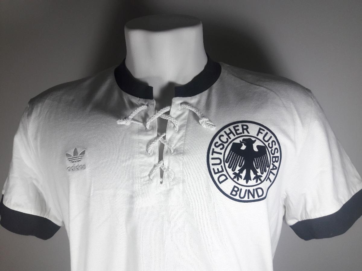 camisa adidas original s retrô alemanha campeã 1954 algodão. Carregando  zoom. bb5c610c31621