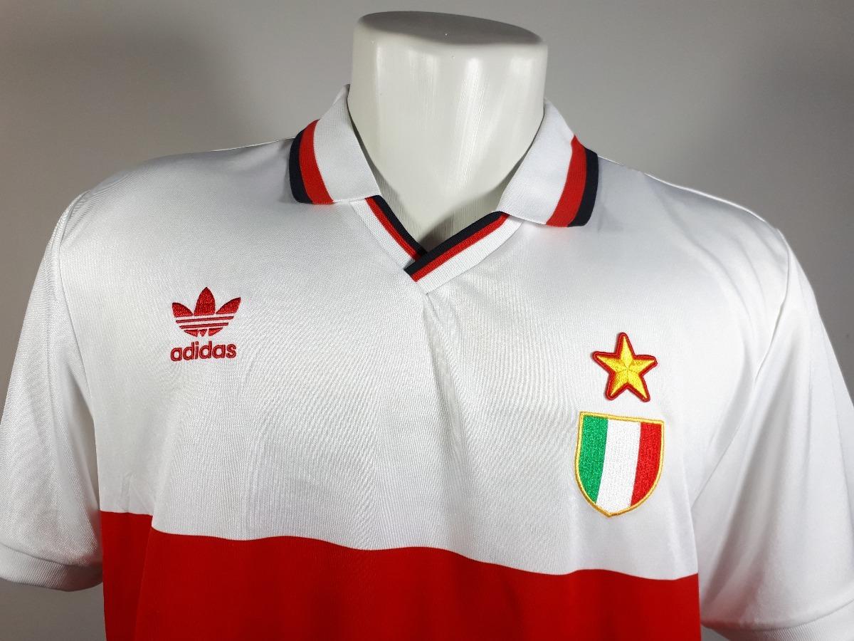 camisa adidas originals retrô milan  6 baresi nova rara. Carregando zoom. 09ab03b0cc9d1