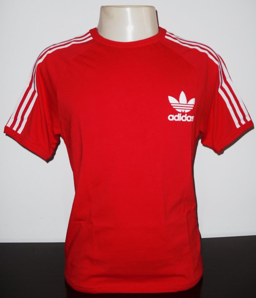 bdb462dd0e camisa adidas originals vintage retro nova vermelha. Carregando zoom.