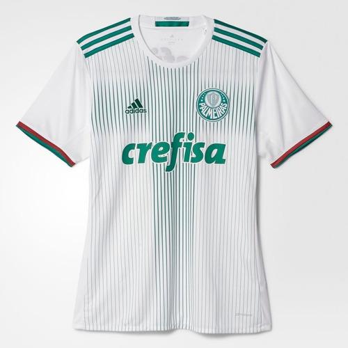 Camisa adidas Palmeiras 2 2016 2017 - Infantil Original - R  145 c92126db5b187