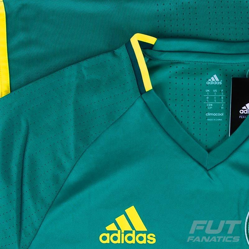 a35165a365ea3 Camisa adidas Palmeiras 2016 Treino - Futfanatics - R$ 169,90 em ...