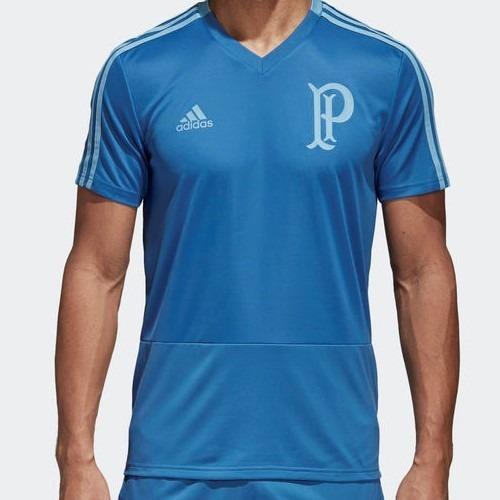6421a14a02b56e  Camisa adidas Palmeiras Azul Viagem 2018 - R 209 673c4428d5390