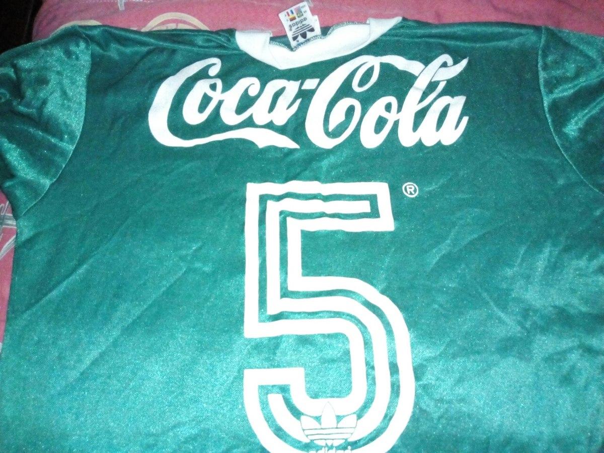 a358325455e35 Camisa adidas Palmeiras Coca Cola Anos 80 - R  2.500