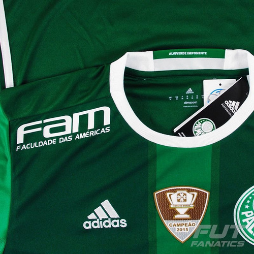 be37025ba2 Camisa adidas Palmeiras I 2016 Com Patrocínio - Futfanatics - R  279 ...