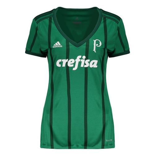 camisa adidas palmeiras i 2017 feminina