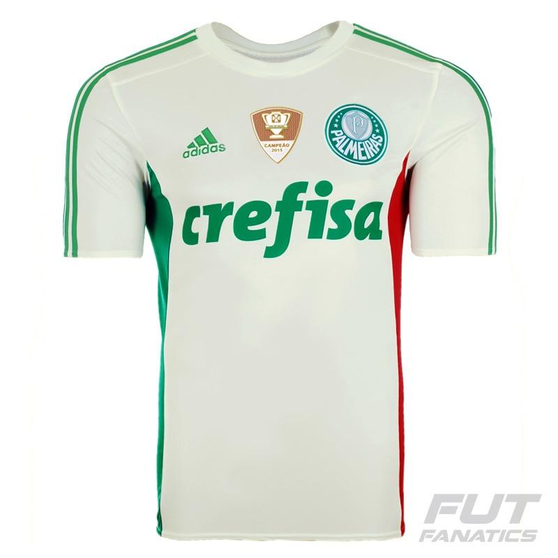 camisa adidas palmeiras ii 2015 patch copa do brasil. Carregando zoom. 53bbab8705fba