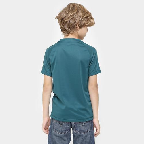 camisa adidas palmeiras infantil 17/18 treino tam. m
