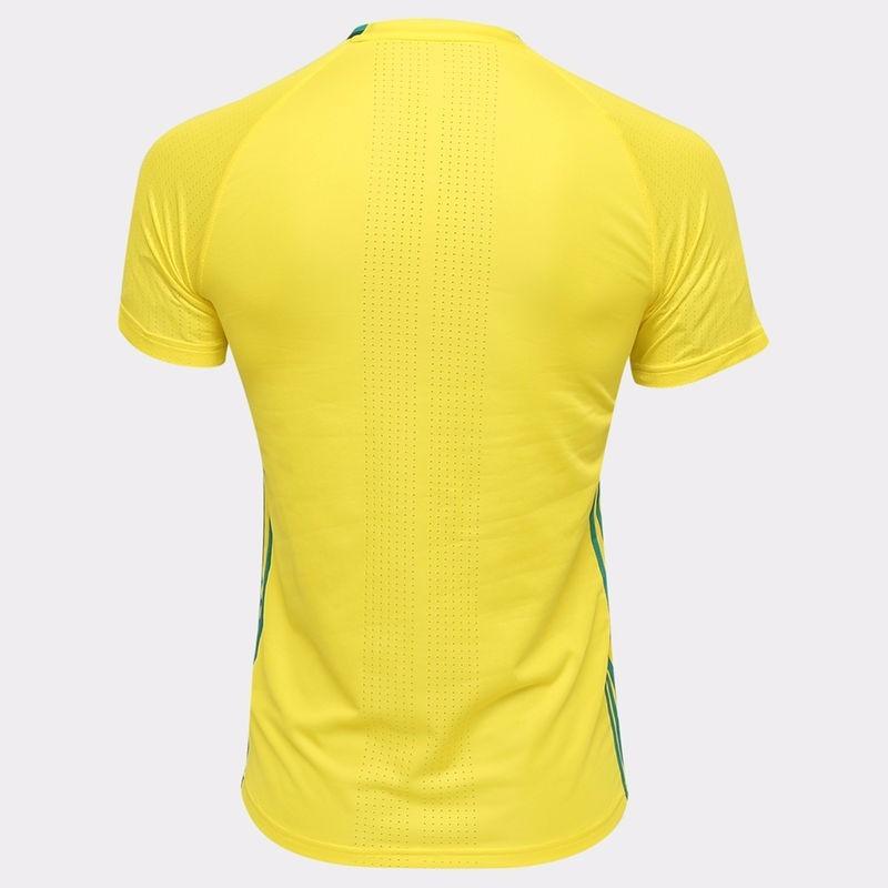 947b097f06f66 Camisa adidas Palmeiras Treino 2016 - Amarelo E Verde - R$ 119,90 em ...