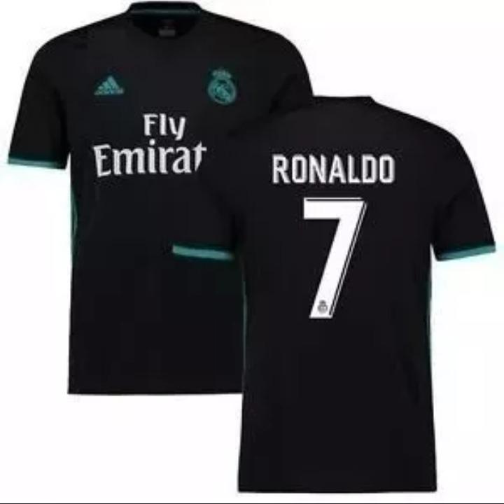 e8b8ca929a069 Camisa adidas Real Madrid 17 18 Cristiano Ronaldo Original - R  120 ...
