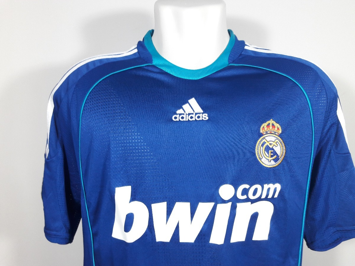 camisa adidas real madrid away 2008 2009 original. Carregando zoom. 1889eef3fe7db