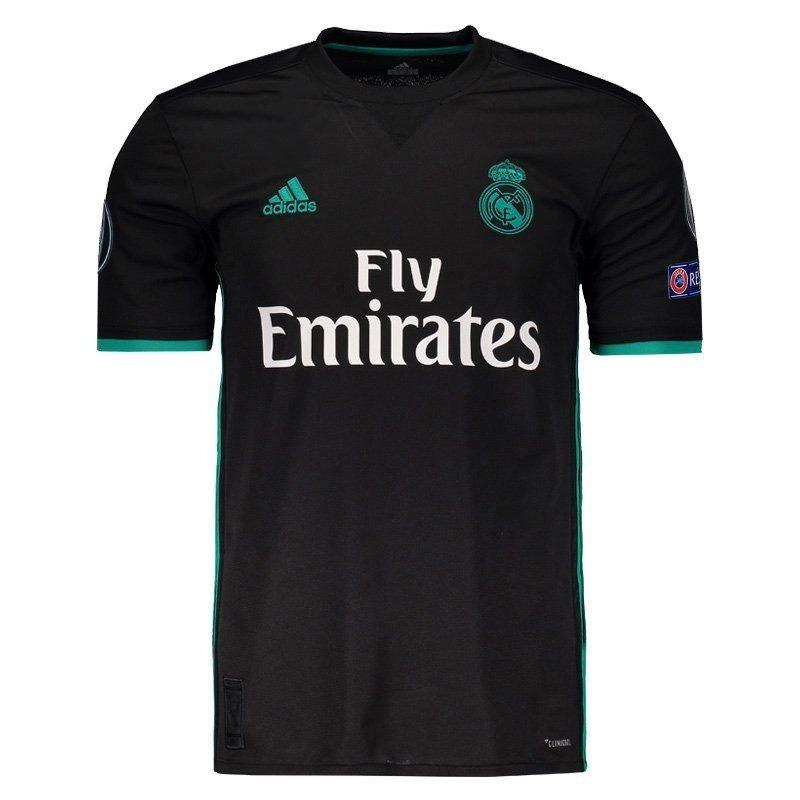 camisa adidas real madrid away 2018 ucl. Carregando zoom. 4620803bb6ae5
