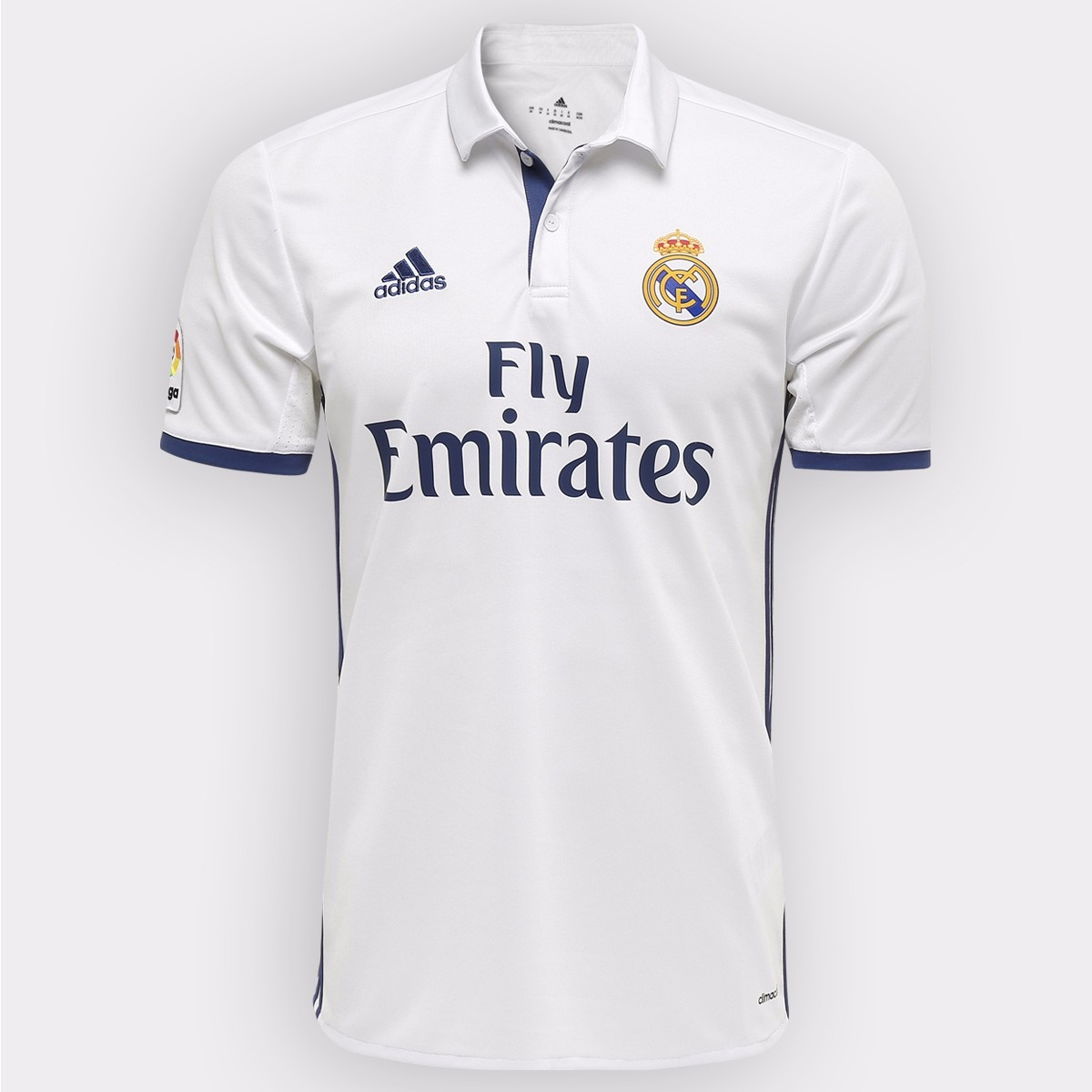 ad9790f06 Camisa adidas Real Madrid Home 16 17 - Easy Shopping - R  136