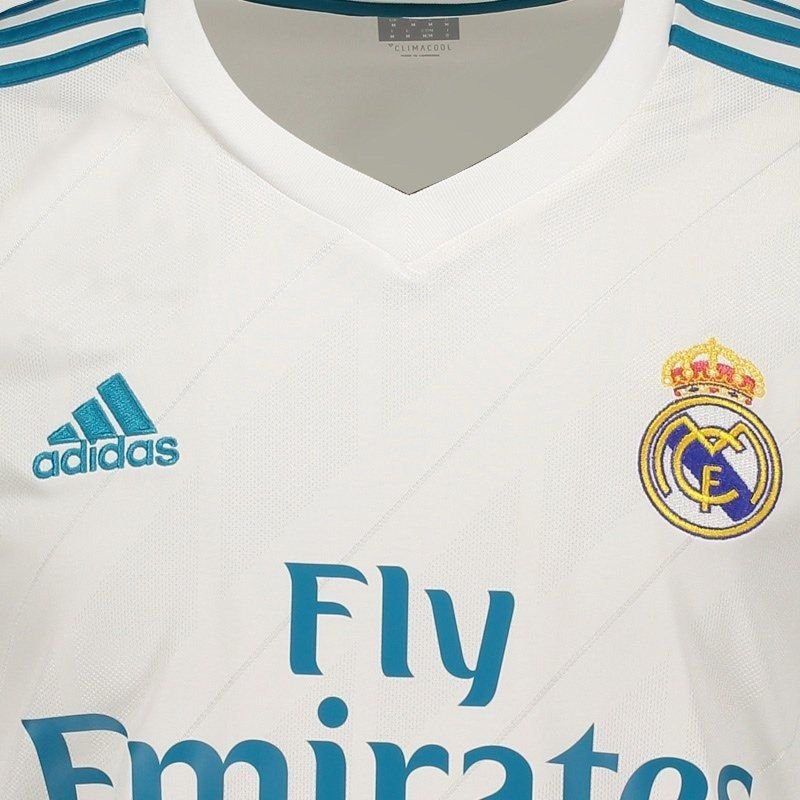 ef611e9919 camisa adidas real madrid home 2018 ucl com patch fifa. Carregando zoom.