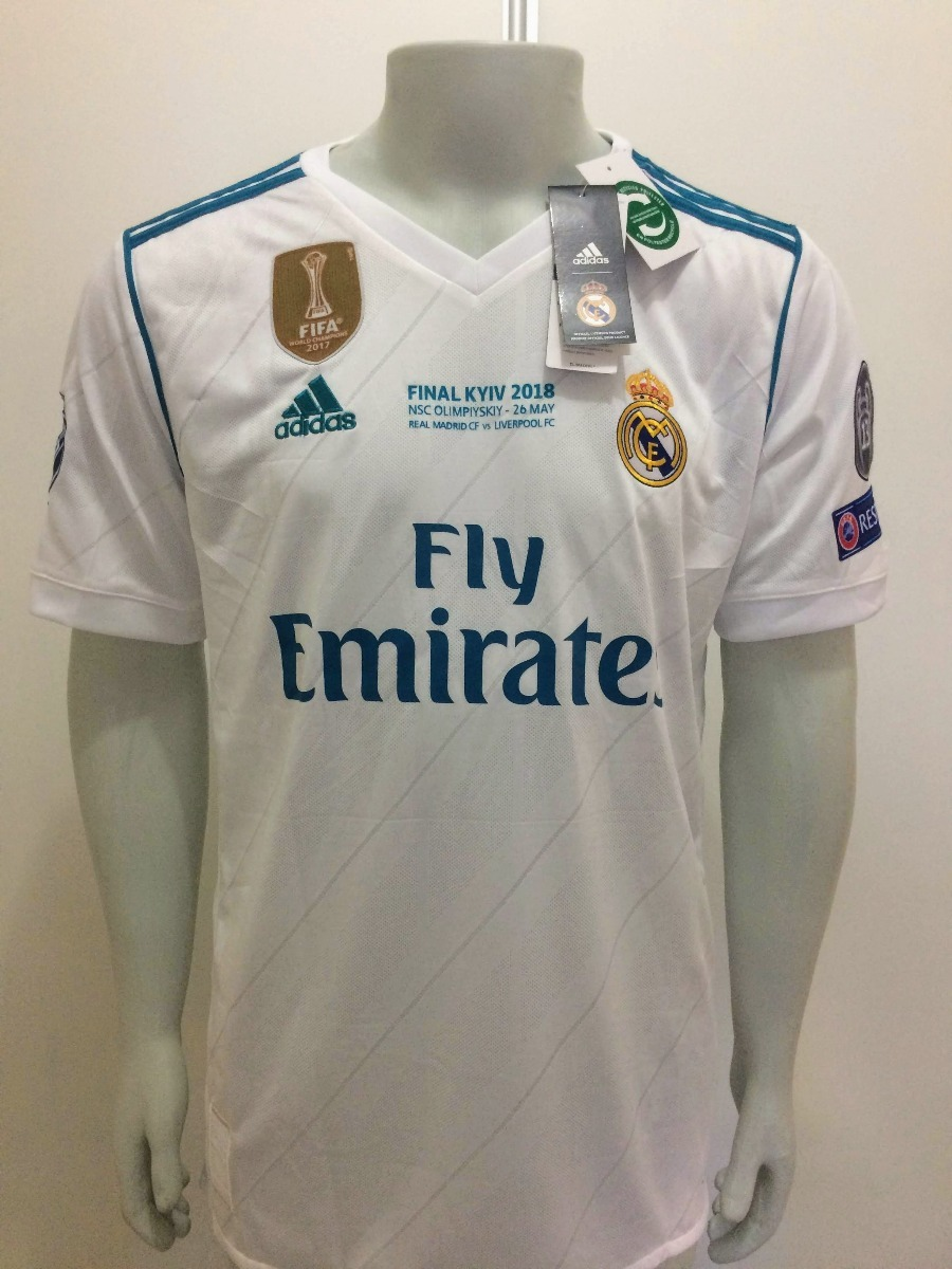 Camisa adidas Real Madrid Home Final Champions League - R  190 c42cb5acc7041