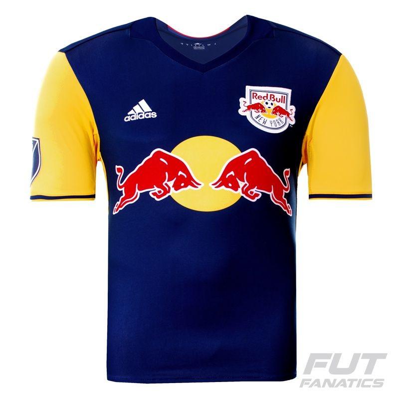 d256c7ba0361a Camisa adidas Red Bull New York Away 2016 - R$ 129,90 em Mercado Livre