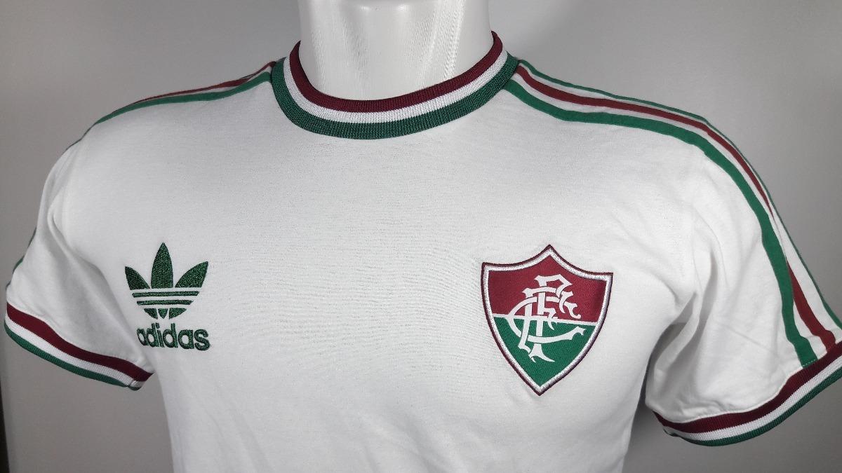 camisa adidas retrô fluminense anos 70 nova algodão. Carregando zoom. c5ee717ae07d2