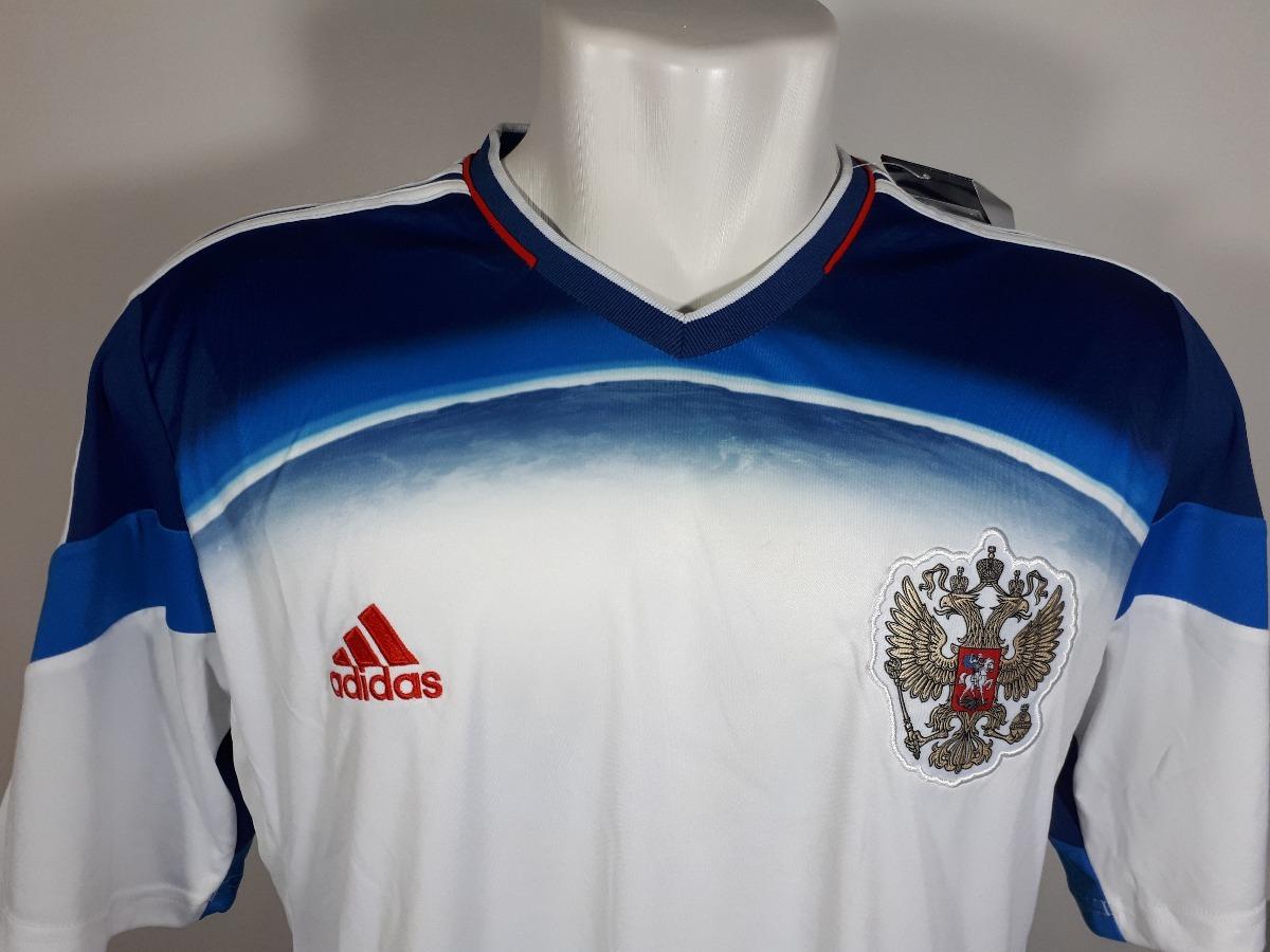 camisa adidas rússia away copa do mundo 2014 nova oficial. Carregando zoom. dd83ea38d0027