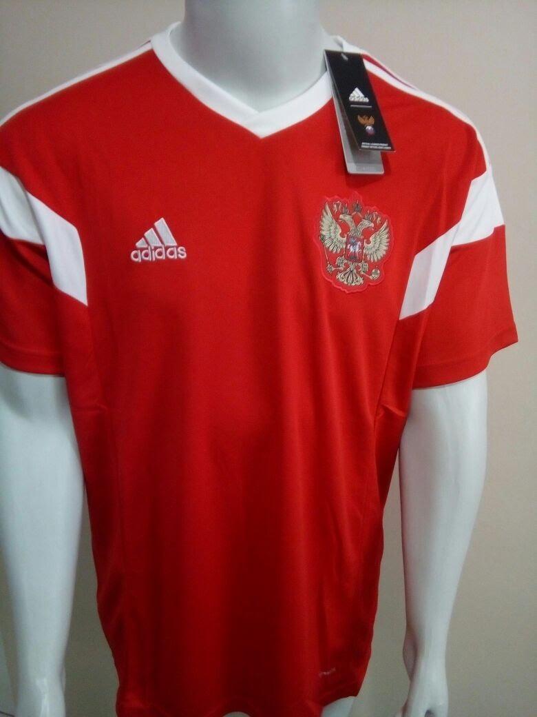 camisa adidas russia home oficial copa do mundo 2018. Carregando zoom. 895deab9fe640