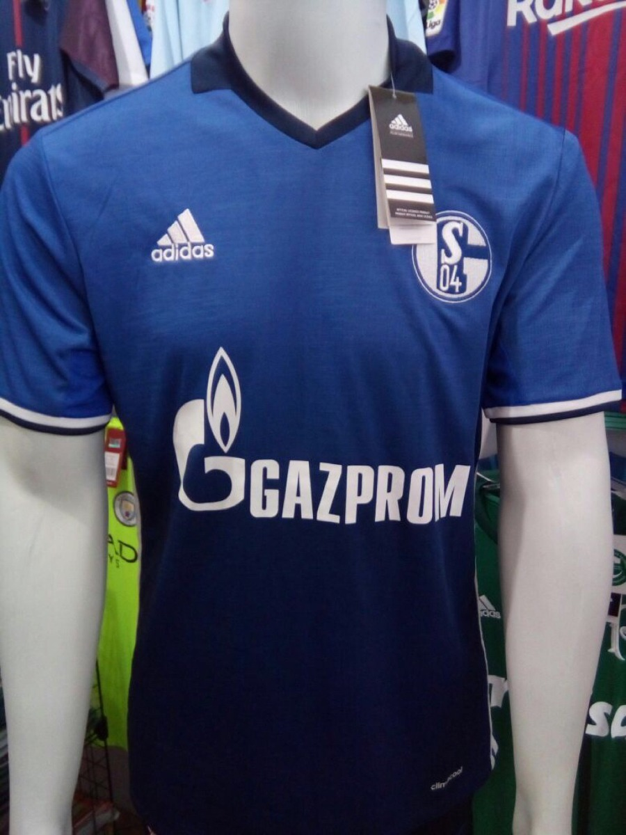 0038d6030d camisa adidas schalke 04 home 16 17 - azul -100% oficial. Carregando zoom.