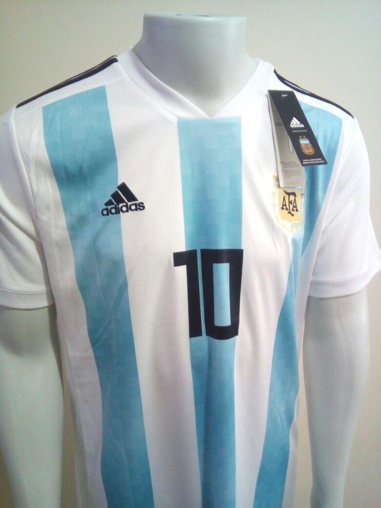 0fc33e872b camisa adidas seleção argentina titular copa 2018 nº10 messi. Carregando  zoom.
