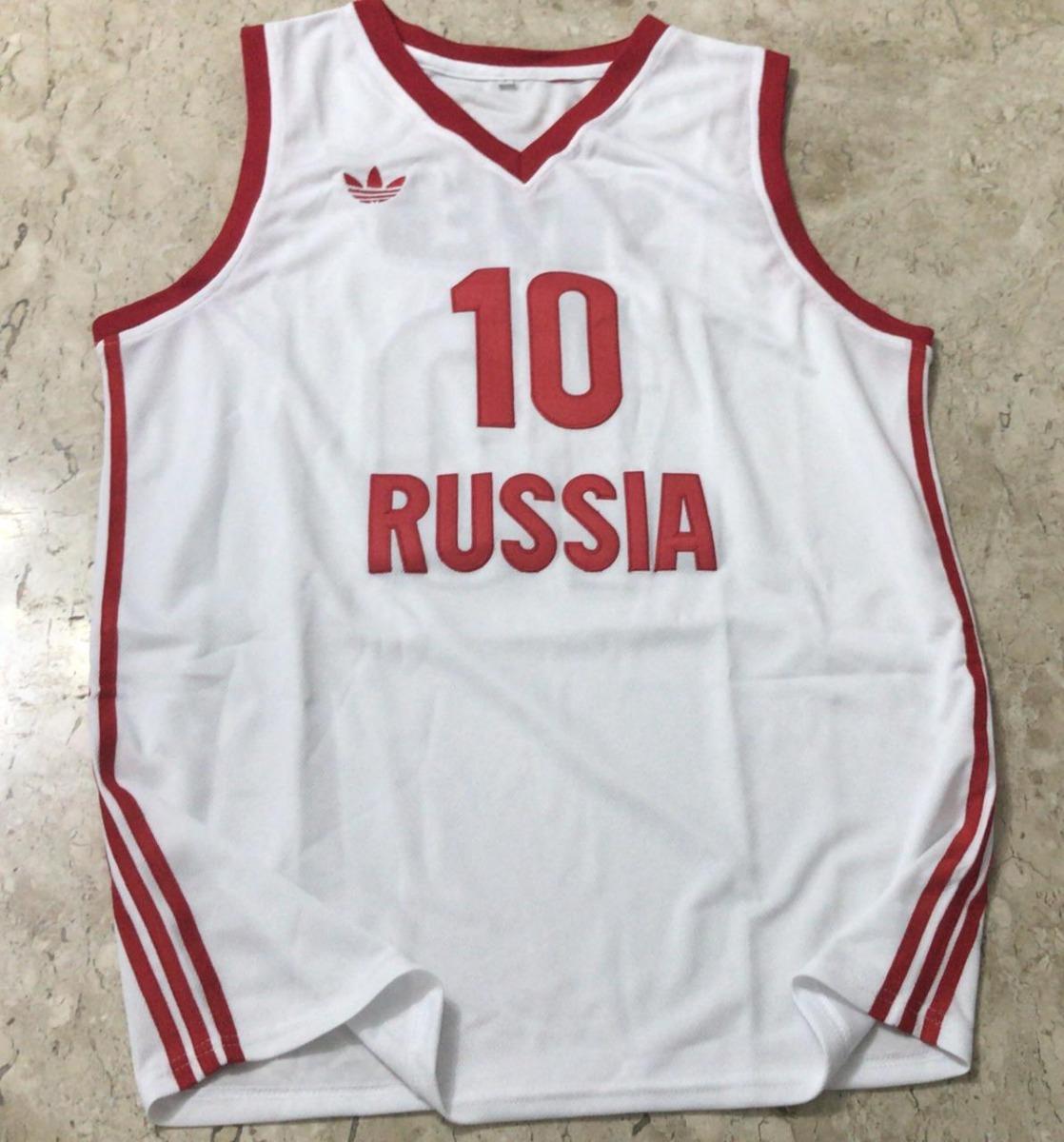 camisa adidas seleção basquete rússia - pronta entrega. Carregando zoom. 3496f5abf06ca