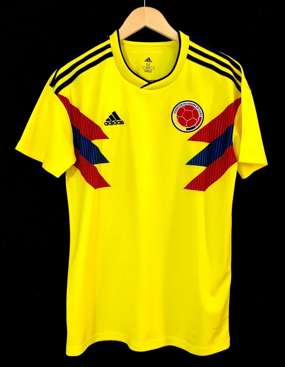 496a393dbe2ec camisa adidas seleção colombia 2018 oficial copa do mundo. Carregando zoom.