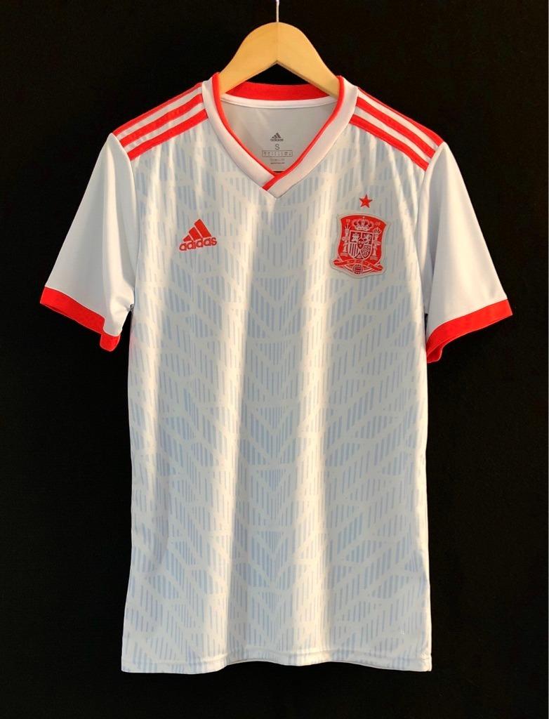 185e4fdab4 camisa adidas seleção espanha 2018 oficial copa do mundo. Carregando zoom.