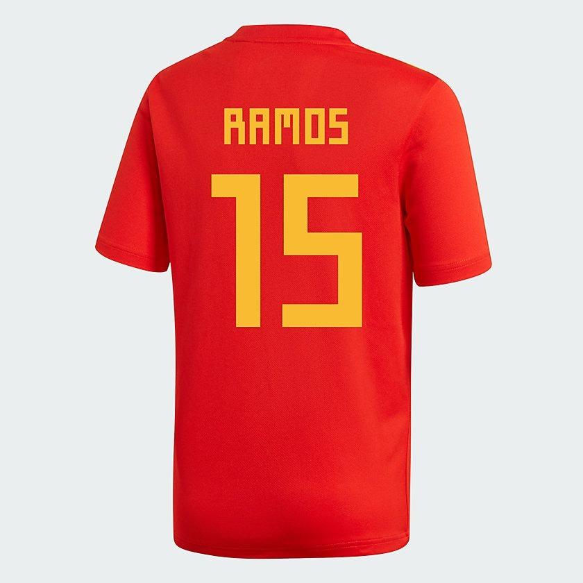 camisa adidas seleção espanha 2018 oficial copa do mundo. Carregando zoom. fa7075a1b86a1