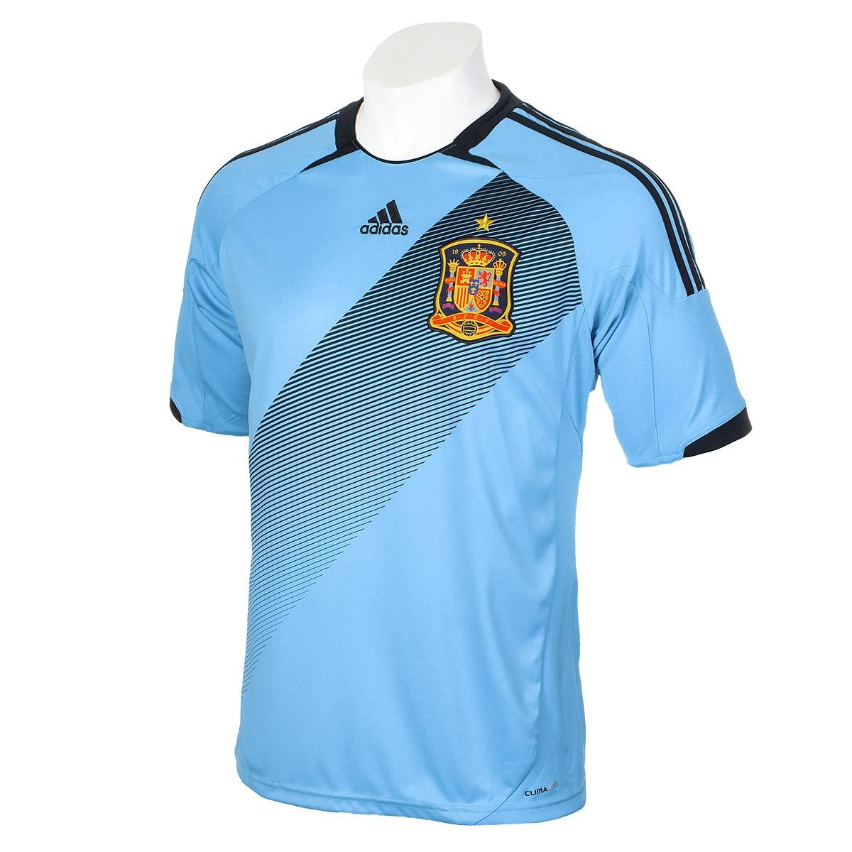 camisa adidas seleção espanha away 2012 euro copa uefa troco. Carregando  zoom. fb19e25ae3a25