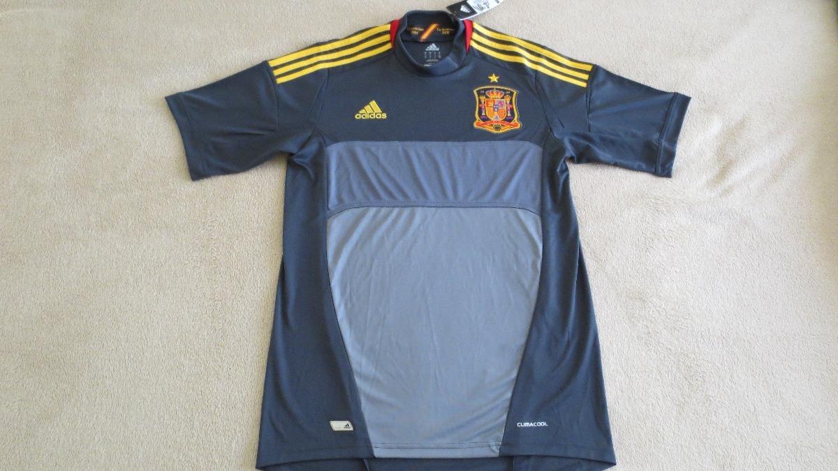 camisa adidas seleção espanha goleiro gk 12 13 eurocopa m. Carregando zoom. 035c9568d1233