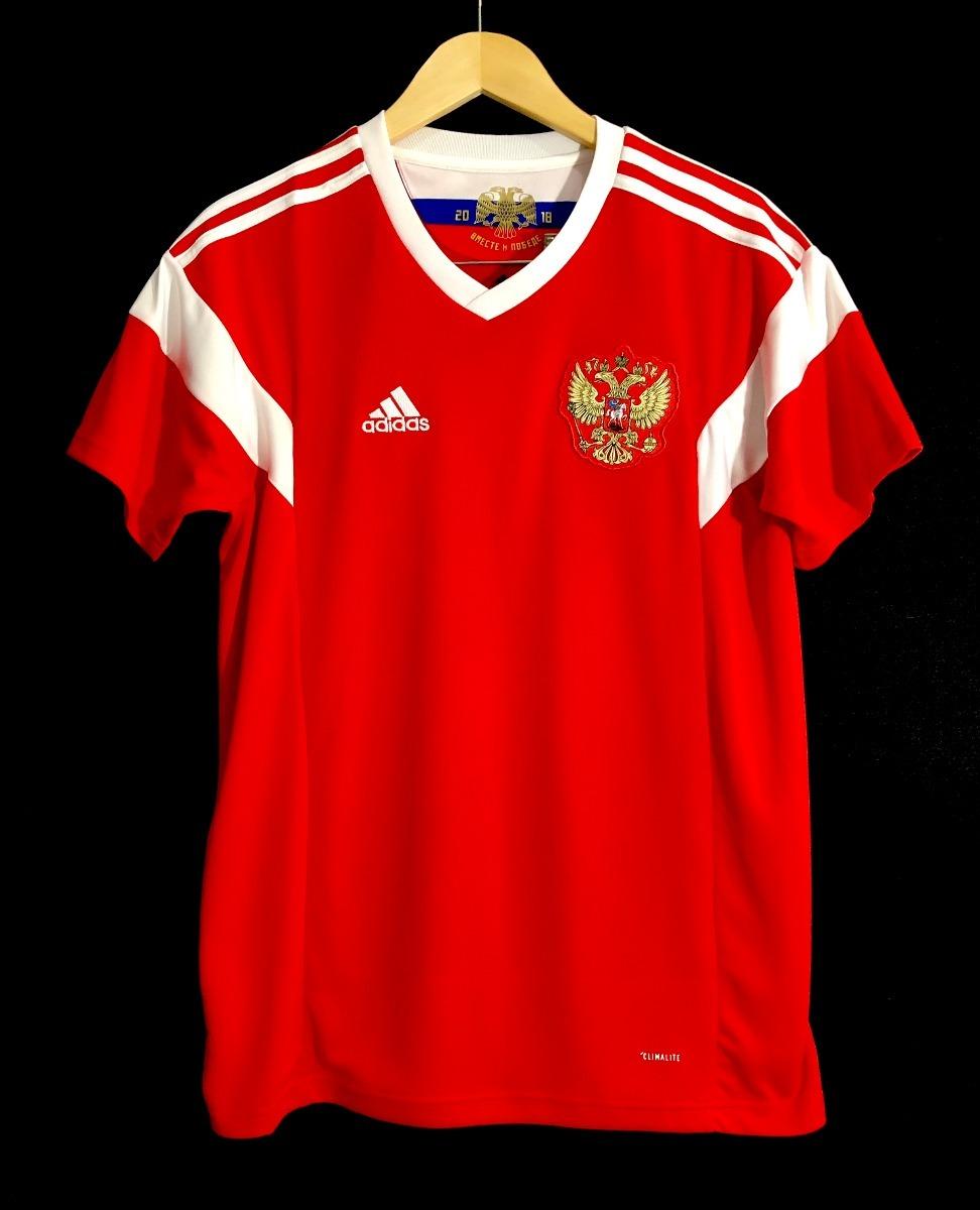 7db0cc563c camisa adidas seleção russia 2018 oficial copa do mundo. Carregando zoom.