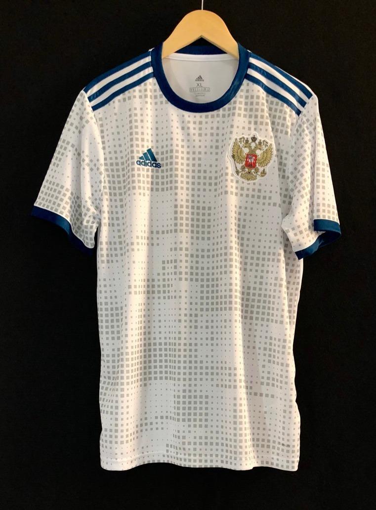 camisa adidas seleção russia 2018 oficial copa do mundo away. Carregando  zoom. c8f45d5433b80